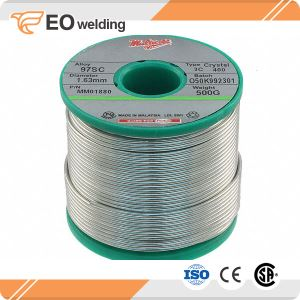 Lead Free Copper Tin Soldering Wire Rosin Flux