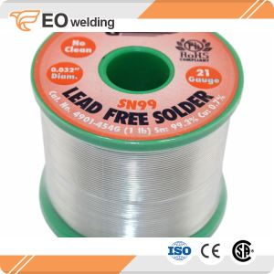 Rosin Flux Cored Lead Free Silver Solder Wire
