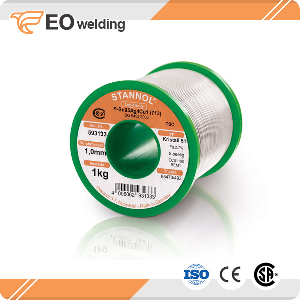 Solder Wire Roll For Radiator Soldering